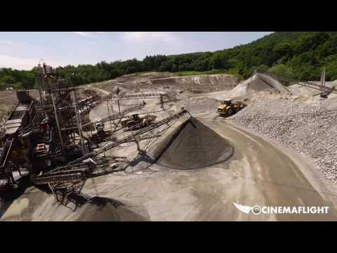 Aerial Video Mining Tour Sample