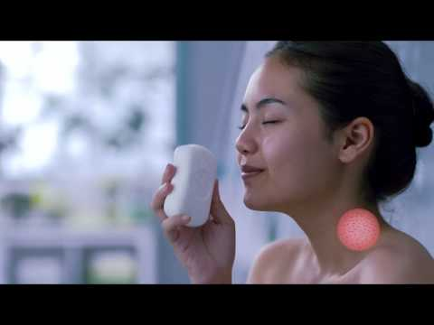 Iklan Dettol Deep Cleanse Bar Soap dengan 100% Butiran Scrub Aprikot Alami (2017)