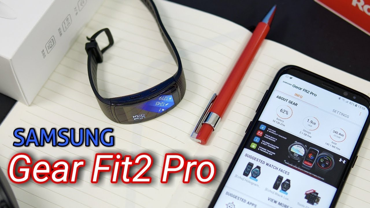 A Great Fitness Tracker - Samsung Gear Fit 2 Pro Review ...
