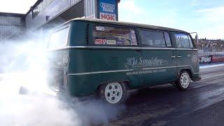 VW Campervan 320bhp 2442cc With Nos - 1/4 Mile 12.11 @ 110mph