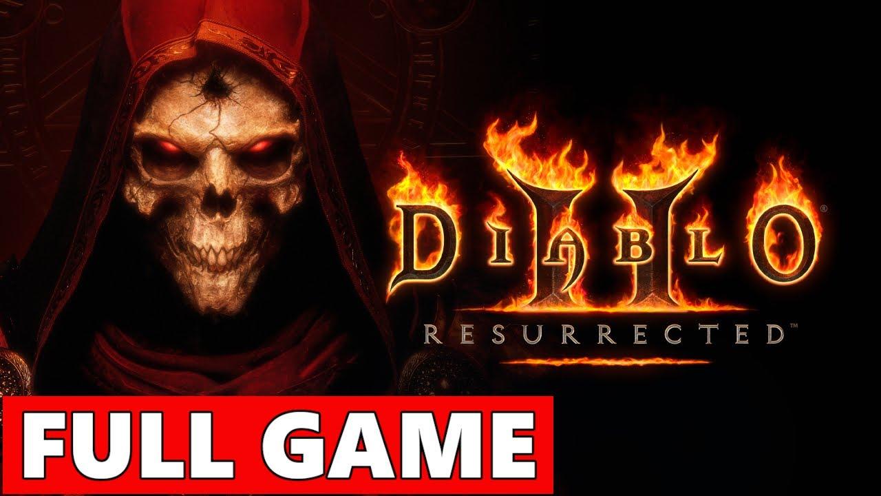 Diablo 2 Resurrected FULL Walkthrough Gameplay - No Commentary (PC Longplay)