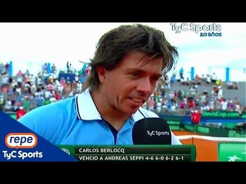 """Carlos Berlocq, tras la victoria ante Seppi: """"Es un momento único"""""""