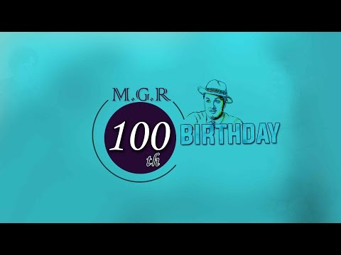 MGR 100th Birthday Special