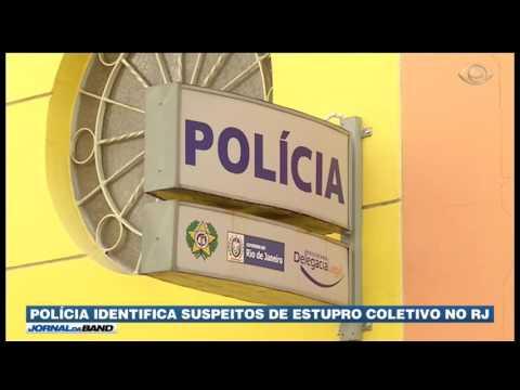 Polícia identifica suspeitos de estupro no Rio de Janeiro