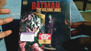 Batman The Killing Joke [Limited Edition BluRay] Unboxing!