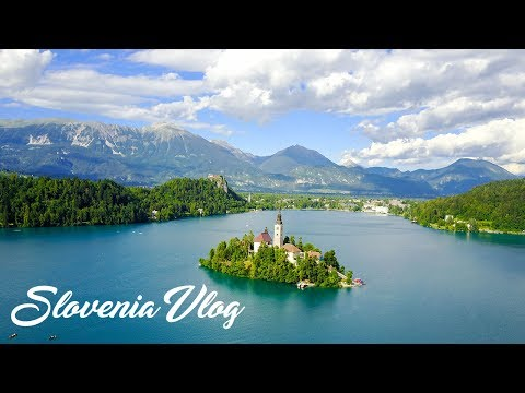 LAKE BLED - SLOVENIA - VLOG  - EUROPEAN SUMMER 2017