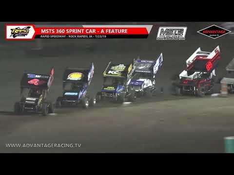 MSTS 360 Sprint Feature - Rapid Speedway - 7/23/19