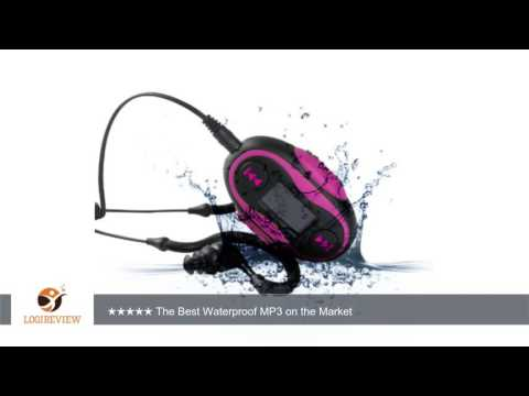 Diver TM Waterproof MP3 Player with LCD Display 4 GB Kit Includes Waterproof Earphones NEW