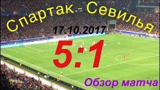 Спартак - Севилья / Обзор матча