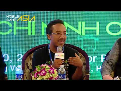 Panel: Conceptualizing A Game In The Pre production Stage - Mobile Game Asia 2015 Ho Chi Minh City