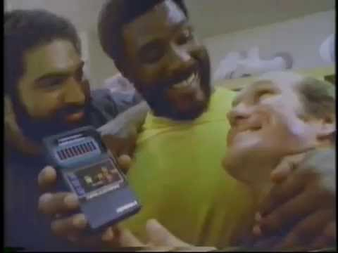 Terry Bradshaw Franco Harris & Mean Joe Greene 1980 Mattel Football Commercial