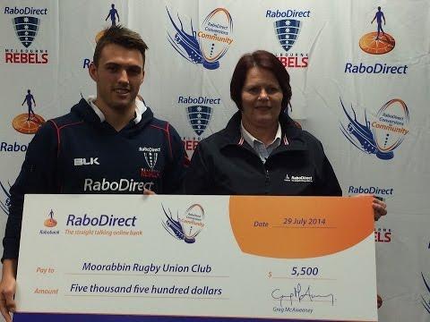 Conversions for Community - R2 Winner Sunia Kilgour (Moorabbin Rugby Union Football Club)