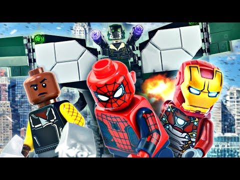 """LEGO Marvel : Spider-Man: Homecoming 76083 """"Beware the Vulture"""" - Review"""