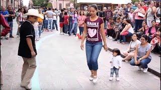 Zapateando el Querreque en el Centro de San Luis Potosí (2017) La Calle del Huapango