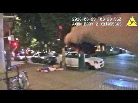 Bodycam Show PSU Officers Shooting Jason Washington on Campus