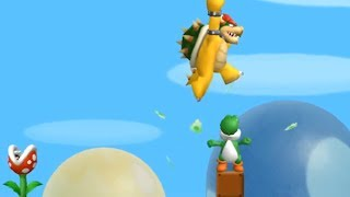 What happens when Bowser rides Yoshi?
