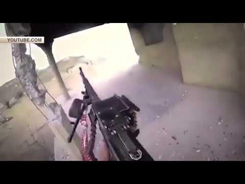 СМИ публикуют кадры уничтожения боевика ИГИЛ*, снятые им самим