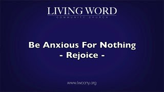 Rejoice (Sermon 09/23/18) - Living Word Community Church in New York City