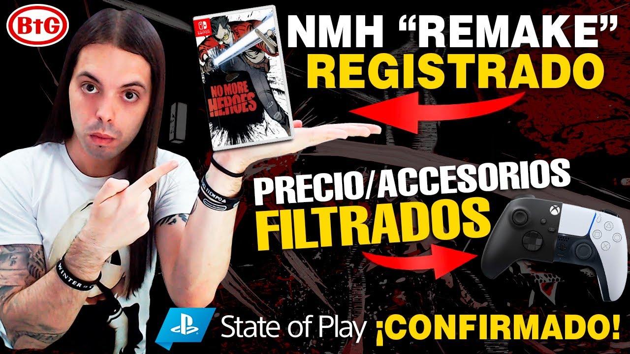 NO MORE HEROES ¿REMAKE? en SWITCH |  STATE OF PLAY el DÍA 6 | PRECIO de PS5 y XBOX Seriex X FILTRADO