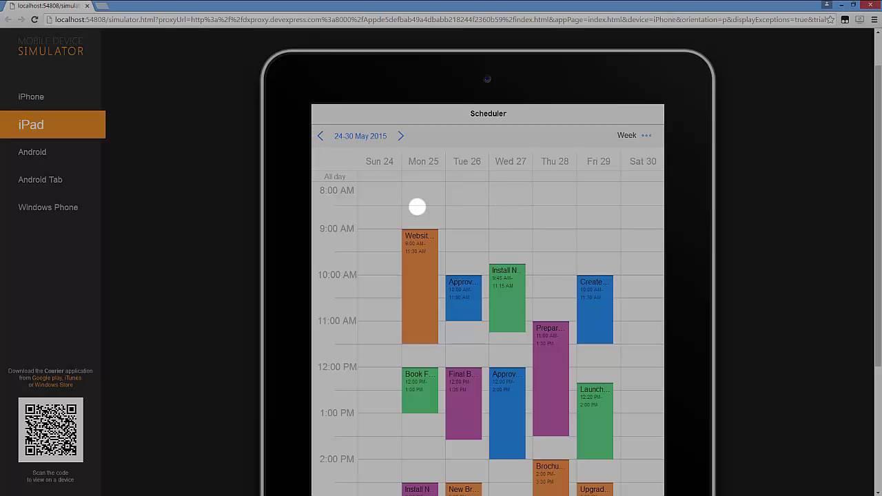 DevExtreme Widgets - Advanced Responsive Layout