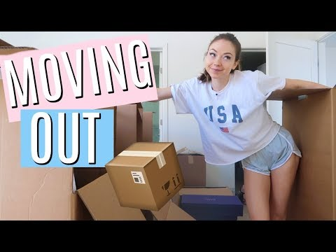 MOVING DAY! MOVING OUT OF MY APARTMENT