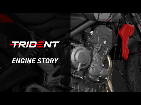 New Triumph Trident 660 Engine Story