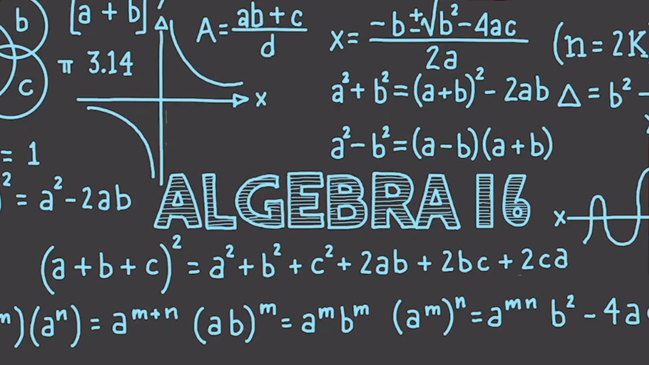 Learn Algebra 16 : Factoring & Greatest Common Factor