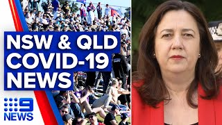 Queensland premier annastacia palaszczuk announced her state has recorded no new cases of coronavirus over the last 24 hours. in nsw, 13 have been ...