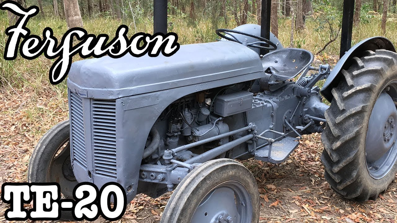 Restored Ferguson TE-20