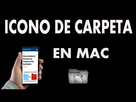 ¿Cómo Cambiar el Icono de una Carpeta en Mac?