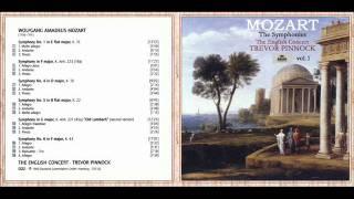 W. A. Mozart - Symphony No. 1 in E-Flat Major, K. 16: II. Andante