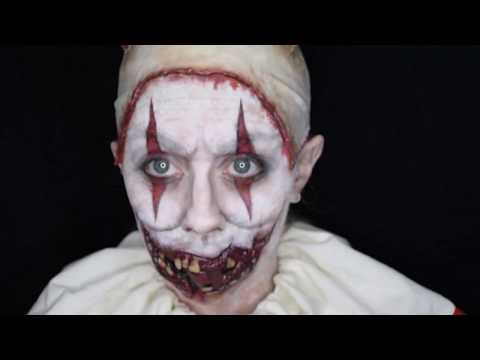 Twisty The Clown / American Horror Story Makeup Tutorial