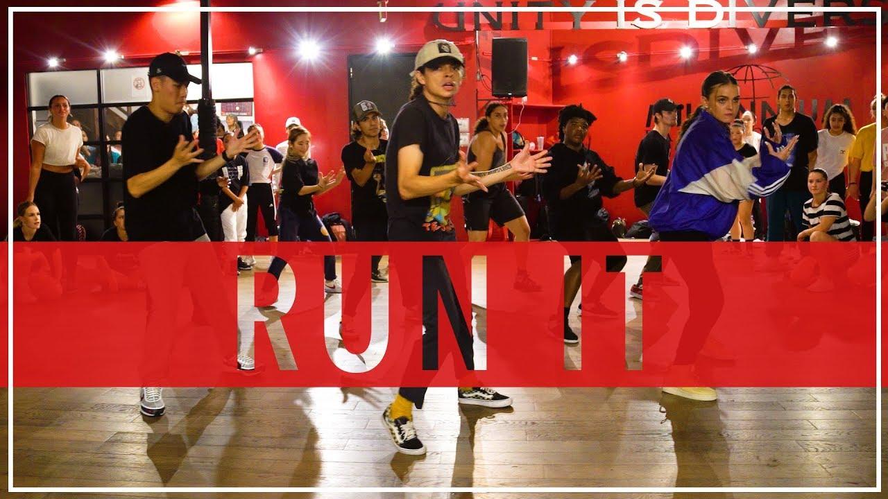 Run It - Chris Brown   Masterclass with Ian Eastwood