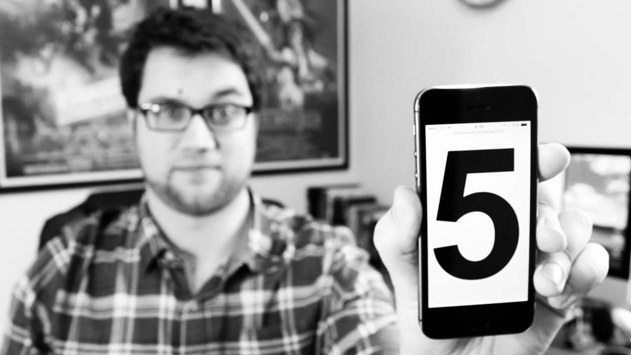 Cam's Top 5 - Reasons to go iPhone