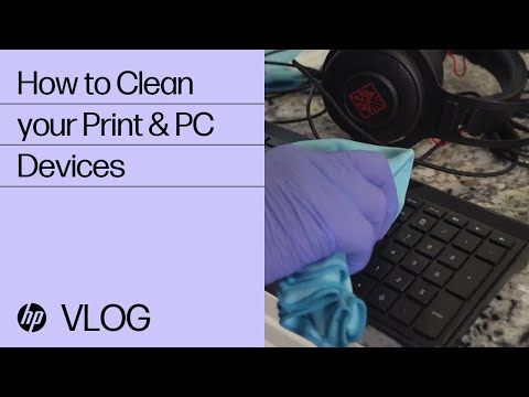 PC & Print Devices Cleaning Guidance | HP How To For You | HP