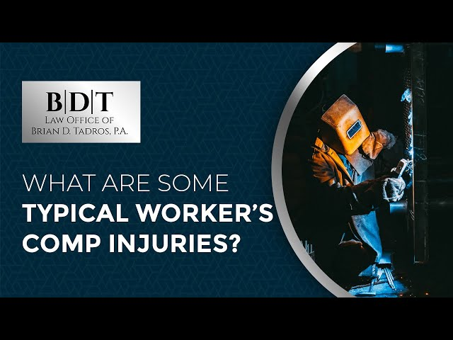 What Are Some Typical Worker's Comp Injuries?