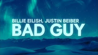 Download Lagu Billie Eilish, Justin Bieber - bad guy (Lyrics) MP3 Terbaru