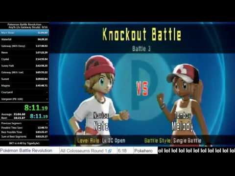 Pokemon Battle Revolution Any% Round 1 in 4:33 IGT (Former World Record)