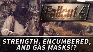FALLOUT 4 : Strength Encumbered, Gas Masks & More!?! (QuakeCon 2015)