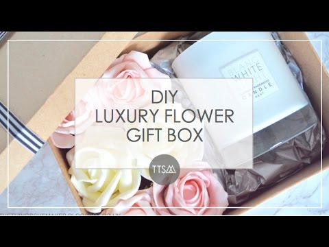 DIY WRAPPING  | LUXURY FLOWER GIFT BOX | TTSM