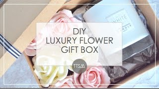 DIY WRAPPING  | LUXURY FLOWER GIFT BOX | TTSM