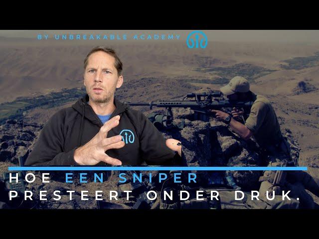 Hoe een sniper presteert onder druk.