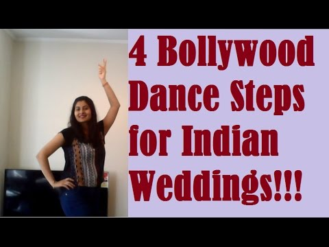 How To Dance In Indian Weddings Tutorial Bollywood Steps