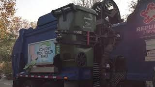 Republic garbage trucks
