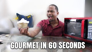 Making 6 Gourmet Desserts In My Microwave | I Followed A Youtube Tutorial | Alonzo Lerone
