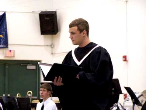 LIVING WORD LUTHERAN HIGH SCHOOL CONCERT, SOLOIST:  MICHAEL MAZIARKA