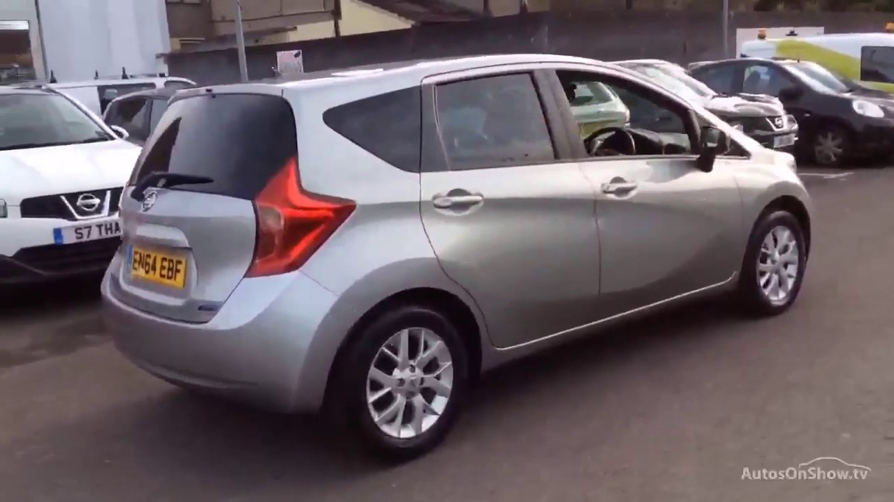 nissan note dci acenta premium silver 2015 youtube. Black Bedroom Furniture Sets. Home Design Ideas
