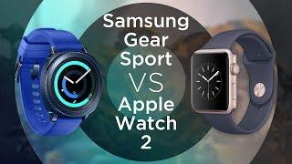 Сравниваем смарт-часы Samsung Gear Sport и Apple Watch Series 2