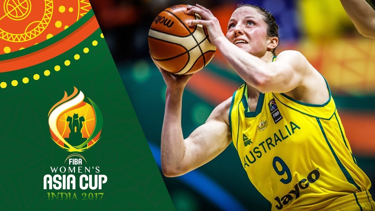 Kelsey Griffin's greatest plays from the FIBA Women's Asia Cup 2017