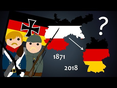 How Germany's Borders Changed from the Second Reich to Today